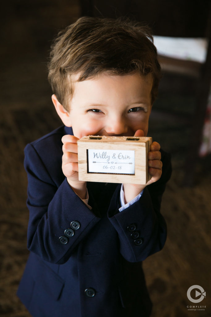 Ring Bearer Ring Box
