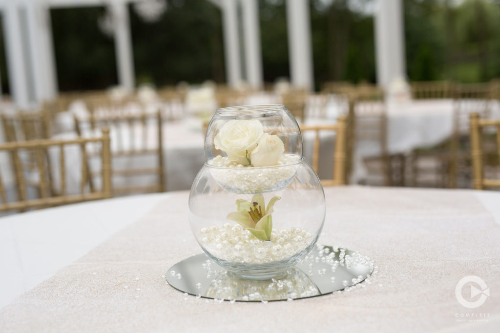 unique pearl centerpiece inspiration