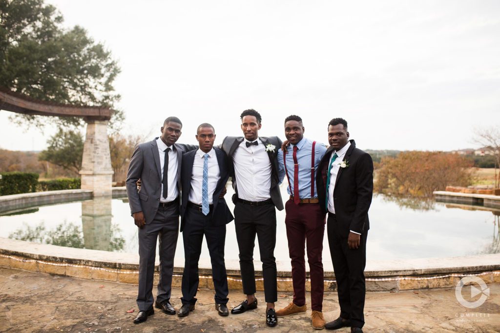 Groom Squad Suspenders