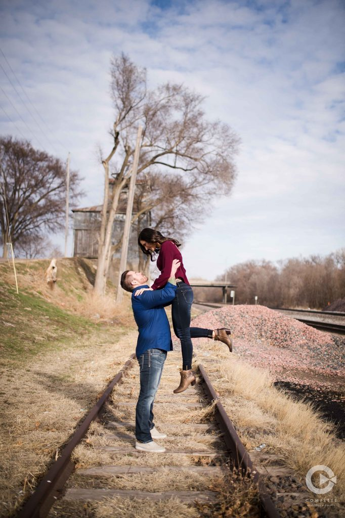 Engagement Omaha Couple