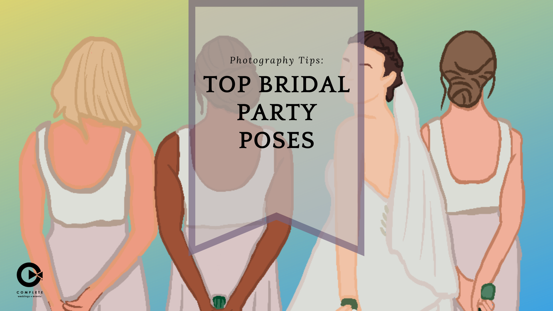 Wedding Photography Tips: Top Bridal Party Poses | South Florida