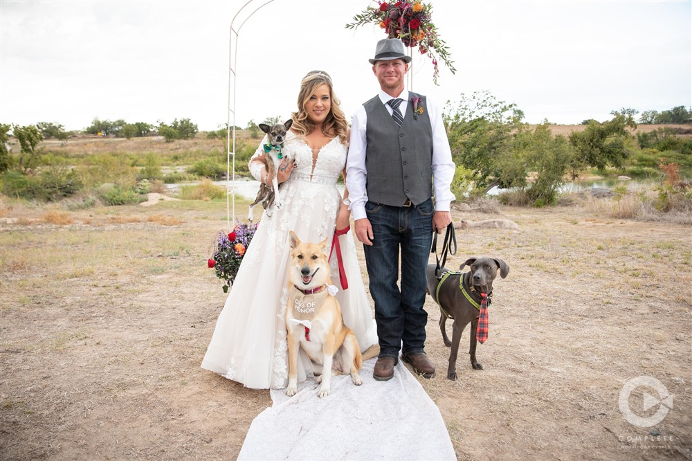 Dogs in Weddings Happily FUR-ever After