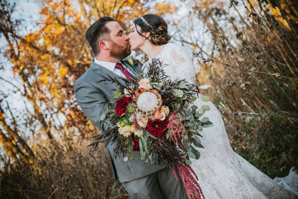 Elegant November Wedding, Kansas City Bride and Groom, Kansas City Wedding Photographer