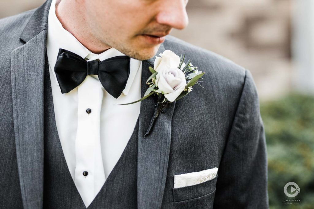 Groom Wear a Suit or Tuxedo