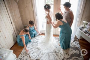 Bohemian Overlook, bridesmaids, getting ready