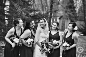 black and white photos, bridesmaids, girl squad