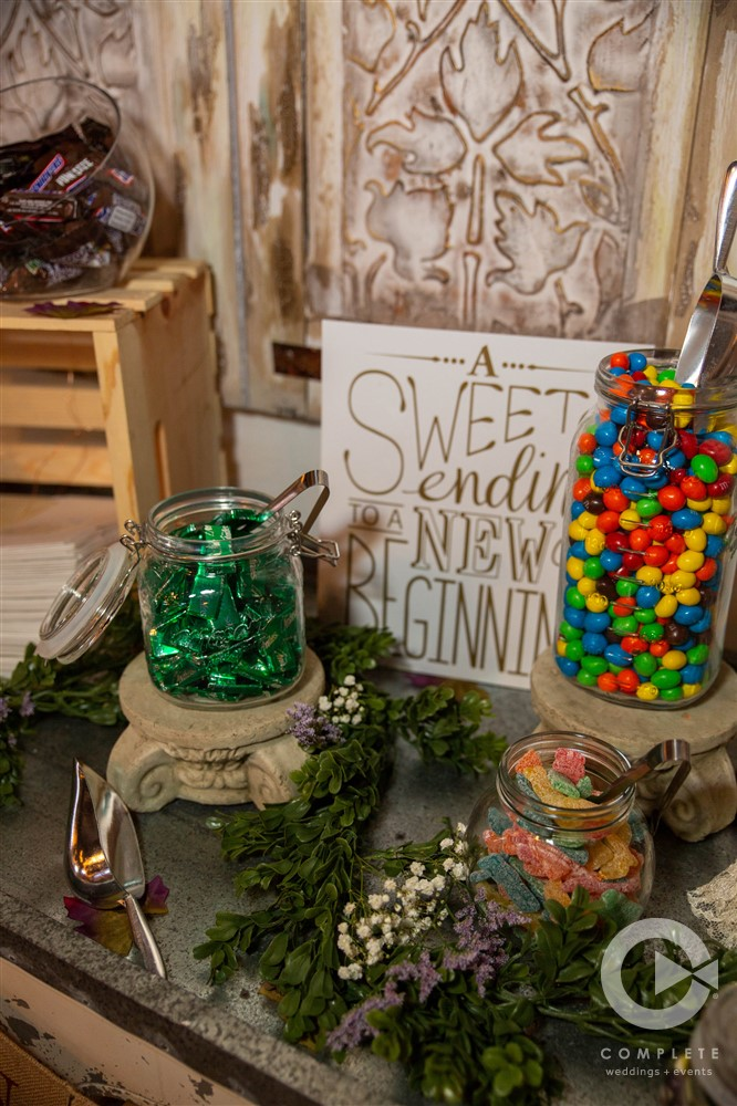 Candy Buffet at reception
