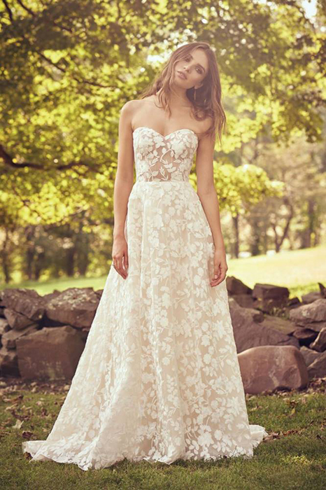 Floral Wedding Dress trend