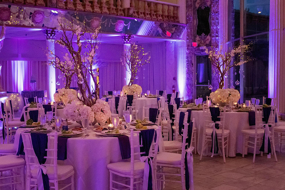 Romantic Wedding Atmosphere Lighting