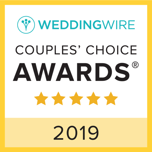 Tampa WeddingWire Couples Choice Award