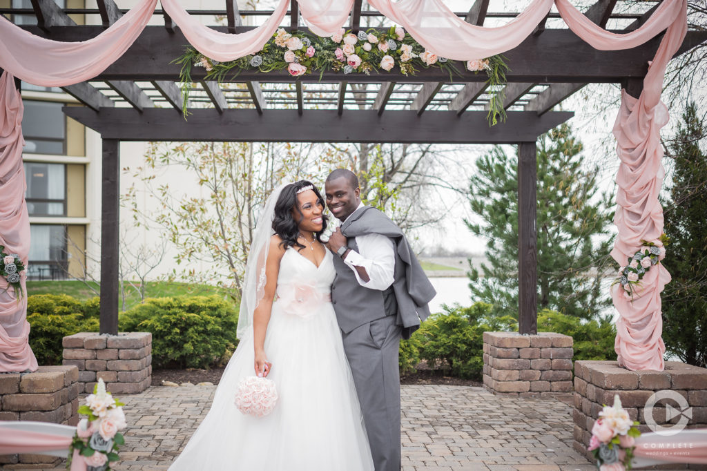 African American Midwest Spring Wedding